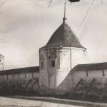 Ограда монастырия до реставрации  (Юрьев-Польский)