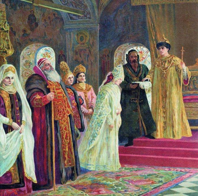 Опера Римского-Корсакова Царская невеста