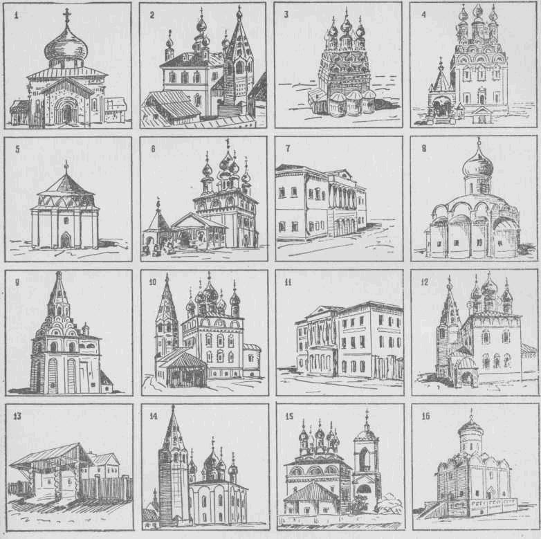Памятники архитектуры городов Владимирской области
