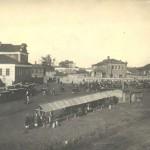 Рынок на Краснооктябрьской улице - общий вид 1933  (Юрьев-Польский)