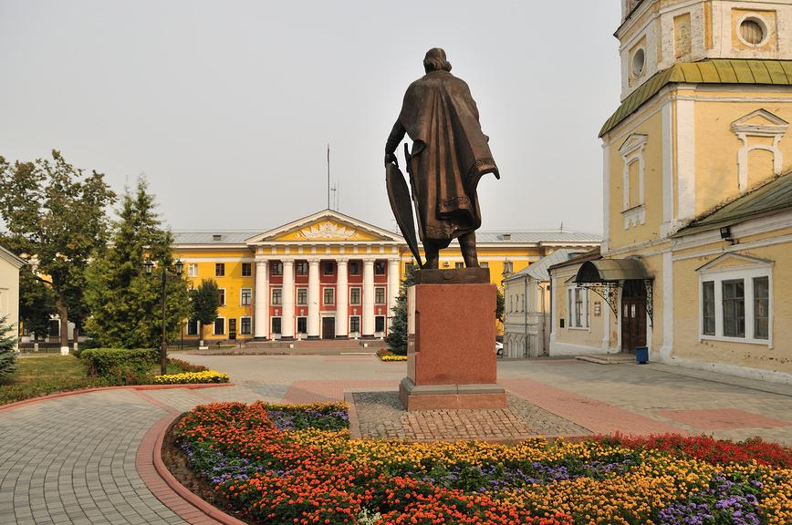 Сквер у планетария во Владимире