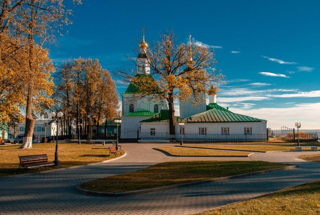Спасский холм во Владимире 03