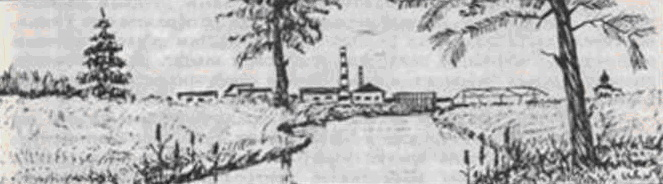 Кольчугинский завод. Старый рисунок