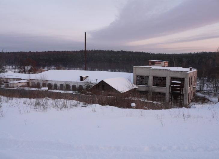 Деревня Осинки.Фабрика по выпуску  льняных мешков.