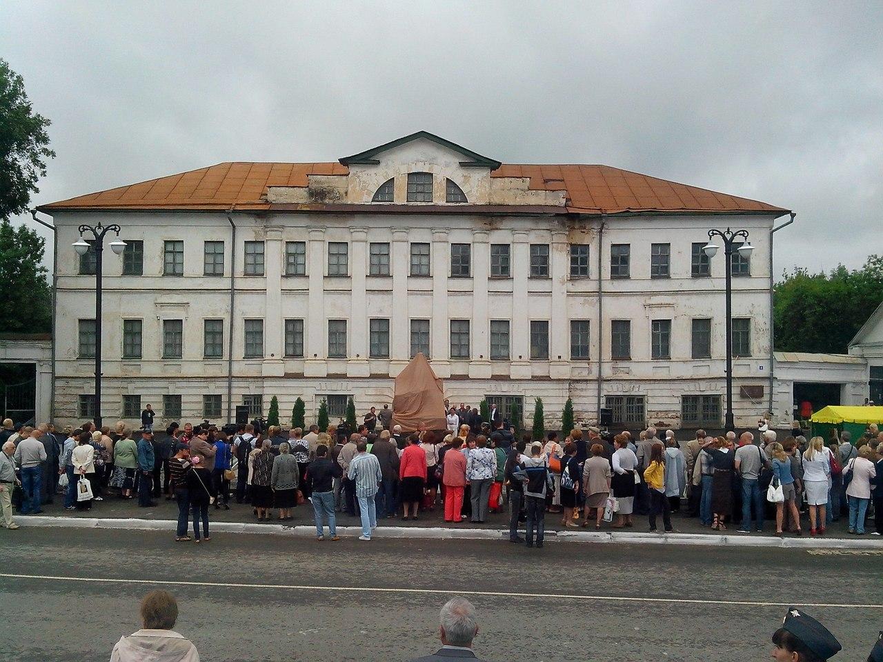 Открытие памятника Зворыкину в Муроме 3