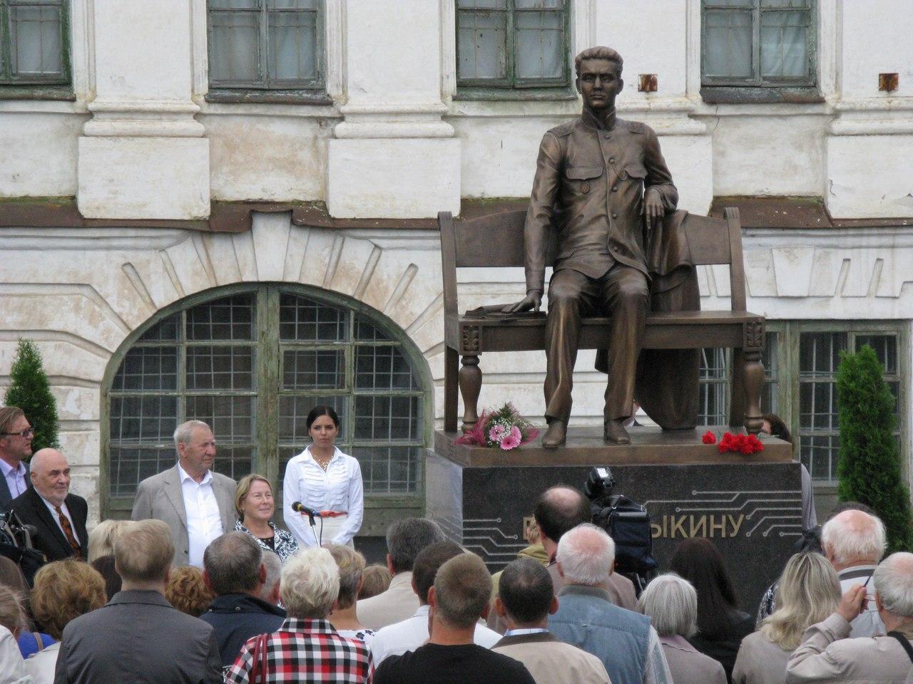 Открытие памятника Зворыкину в Муроме 5