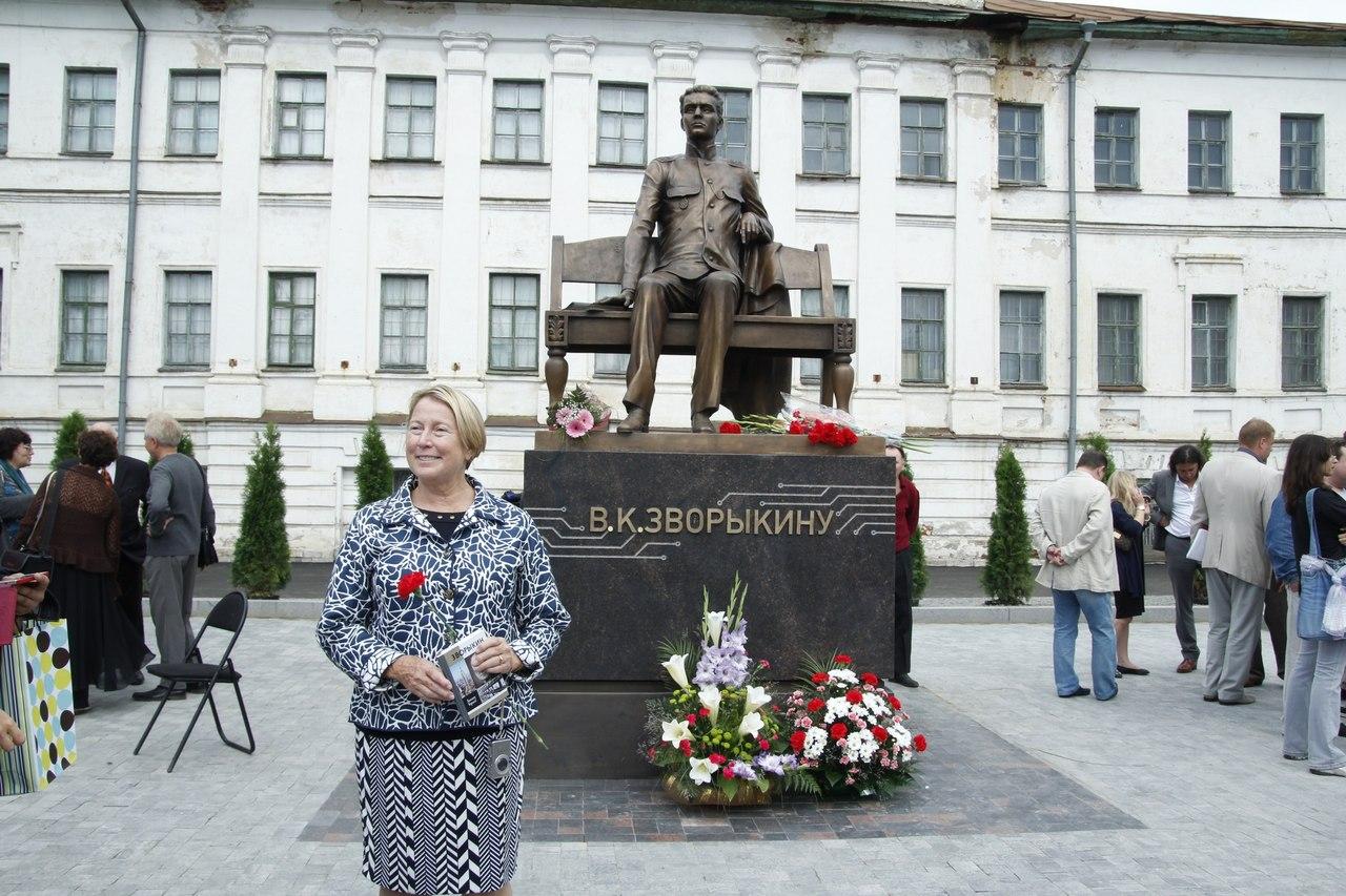 Памятник Зворыкину в Муроме 7