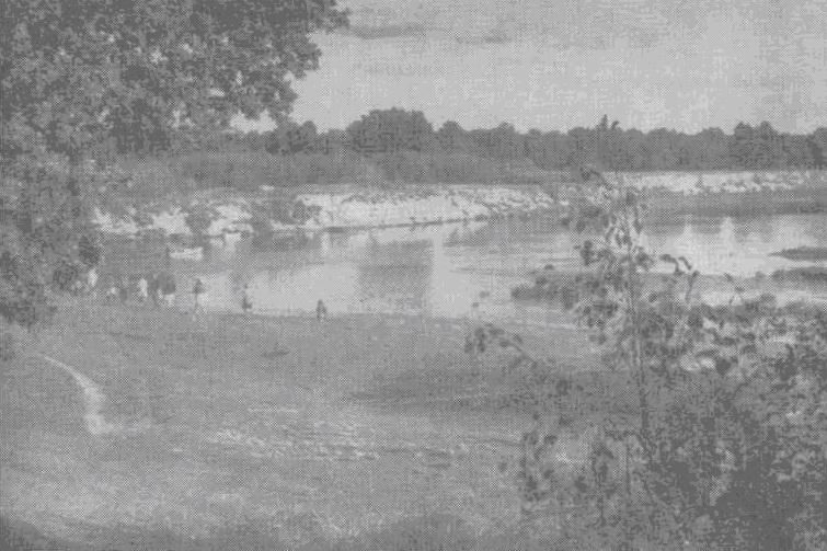 Старинная русская река Клязьма близ устья реки Кококши. Фото Г. Шлионского