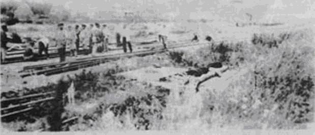 Строительство железной дороги. 1902 год
