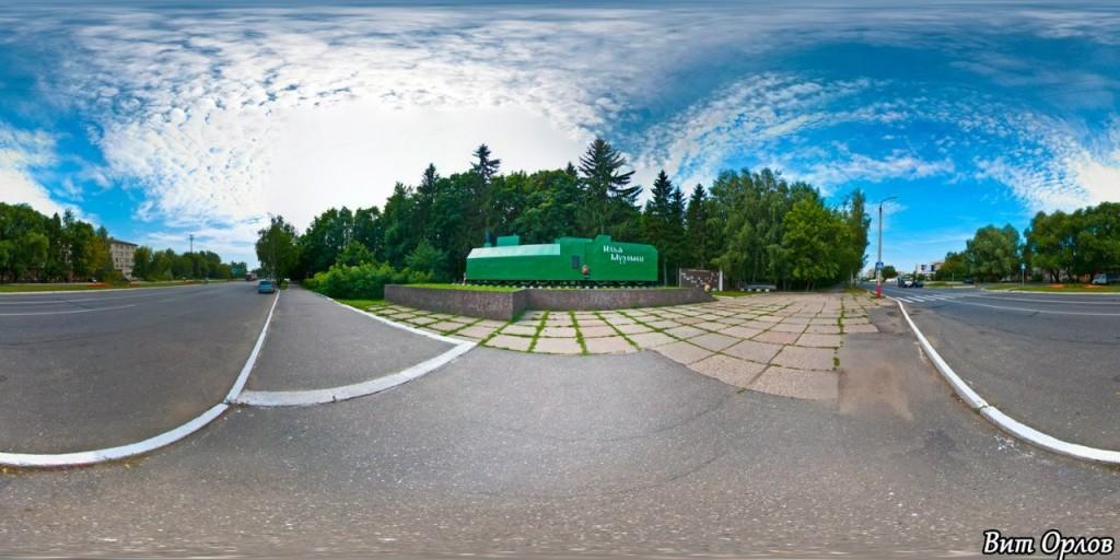 Бронепоезд Илья Муромец на Владимирской шоссе. Фотограф - Виталий Орлов