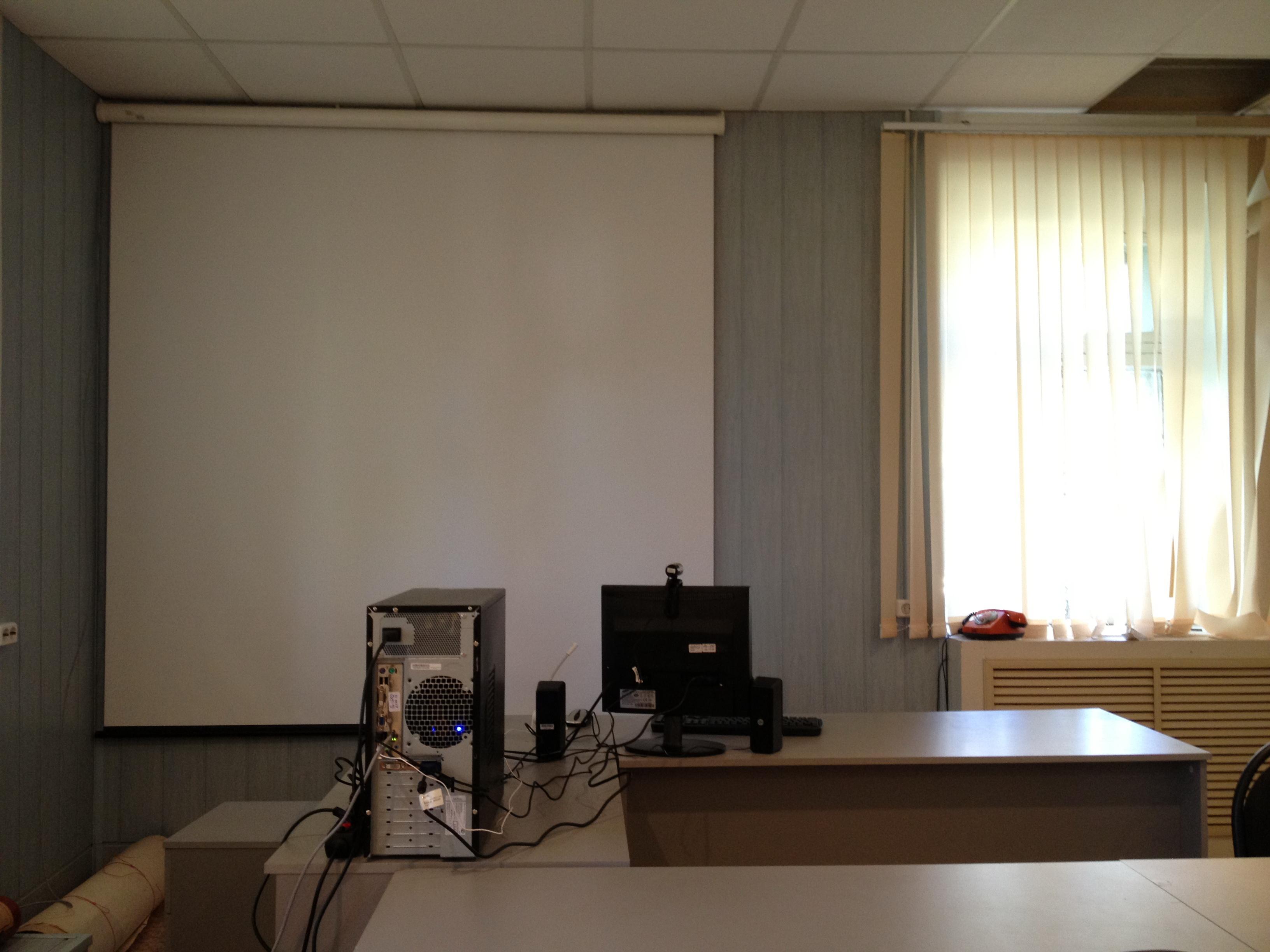 Место преподавателя в кабинете кафедры Химия и технология гетерогенных систем