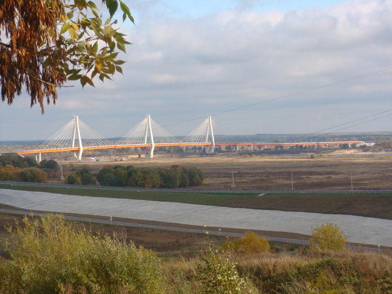 Мост через реку Ока