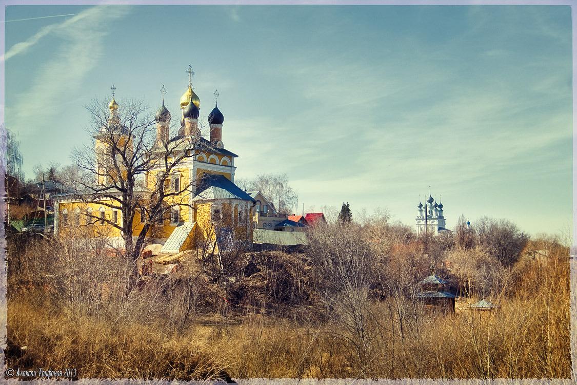 Муромская Николо-набережная церковь. Фотограф - Алексей Трифонов.