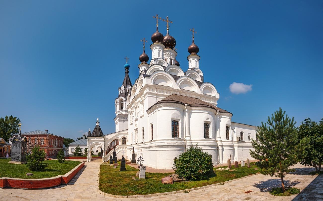 Собор муромского благовещенского монастыря. Лето. Фотограф - Вячеслав Заикин (bine).