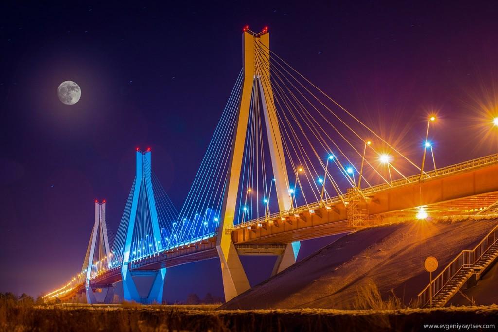 Муромский мост. Фотограф - Евгений Зайцев
