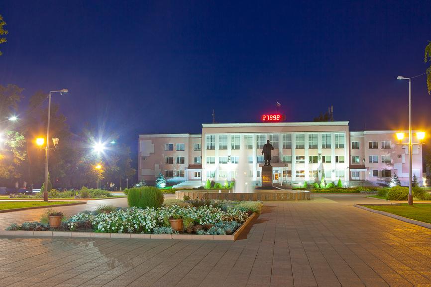 Муром. Площадь 1100-летия города.