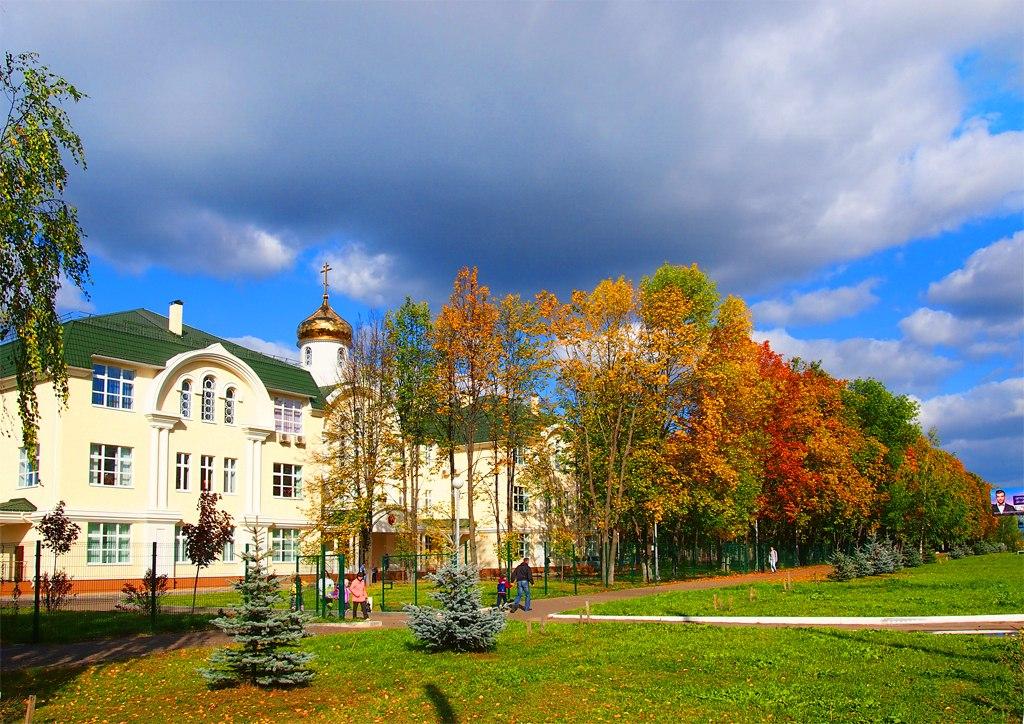 Муром. Новое здание Православной гимназии - 16 сентября 2014