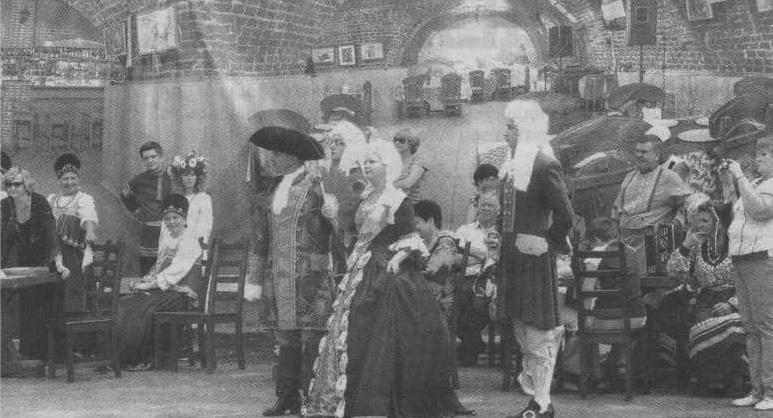 На праздник заглянула и сама Екатерина II