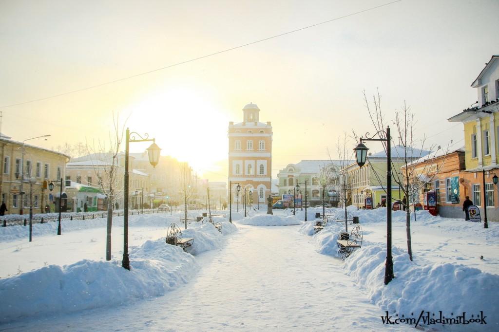Сквер Ермакова в Муроме