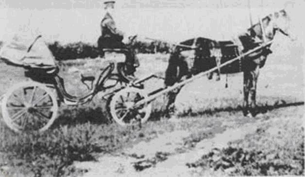 Управляющим заводом возил на такой пролетке Александ Александрович Суслов