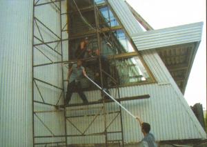 «ЭКОТЕХ». Монтажные работы при строительстве бассейна в городе Радужный