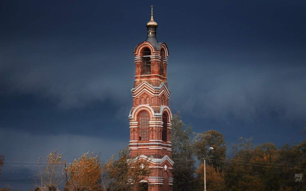 Городская колокольня (1878 год). Фотограф - Дмитрий Сдобин