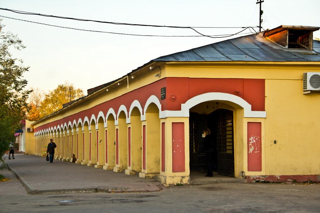 Здание торговых рядов 1850-х годов постройки ул.Гагарина 29-4 Киржач
