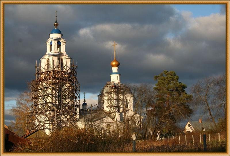 Церковь Георгия Победоносца. Село Ильинское