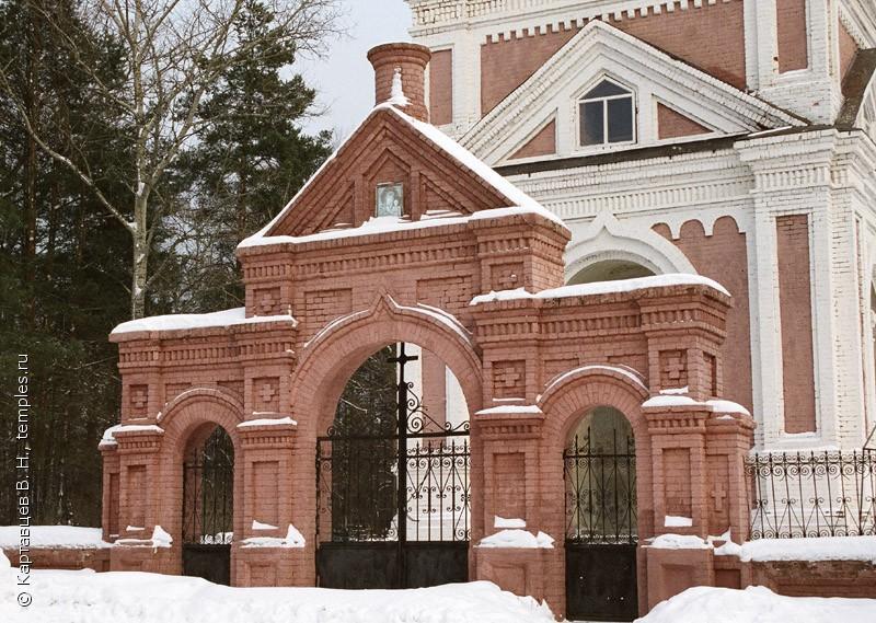 Казанская церковь в Заречье Киржачского района