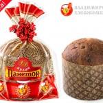 Кекс «Панетон» с изюмом, цукатами шоколадом