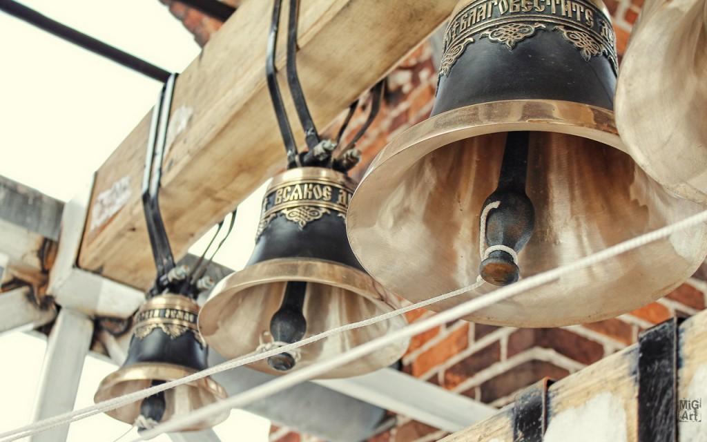 Колокола в меленковской колокольне. Фотограф - Дмитрий Сдобин.