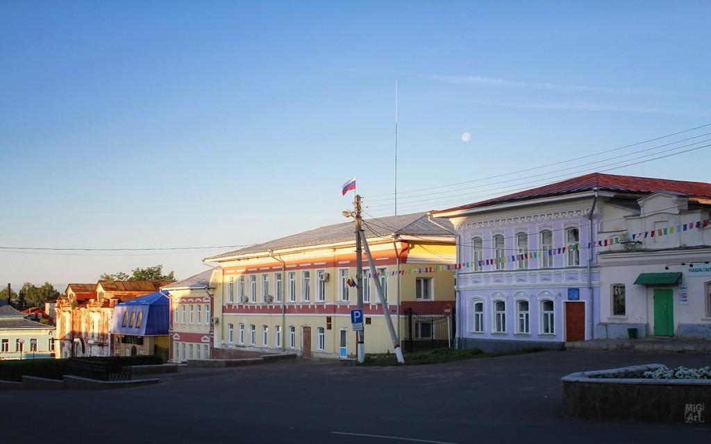 Красноармейская улица г. Меленки