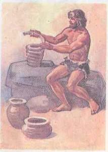 Посуда первобытных людей