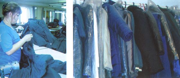 Продукция судогодской швейной фабрики