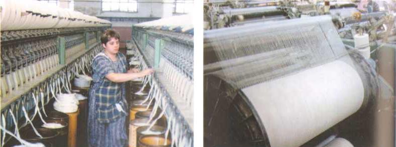 Прядильное производство и ткацкий цех
