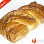 Рулет Русская коса с ореховой начинкой