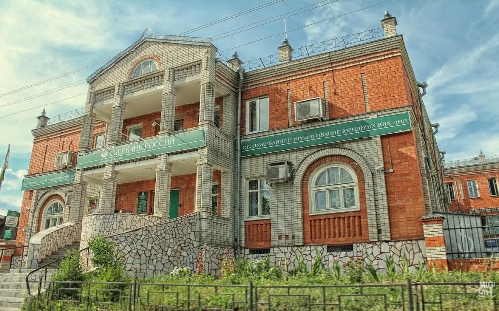 Здание Сбербанка в Меленках