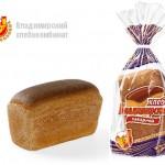Хлеб владимирский заварной формовой в упаковке Владимирского хлебокомбината