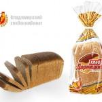 Хлеб дарницкий формовой нарезанный в упаковке Владимирского хлебокомбината