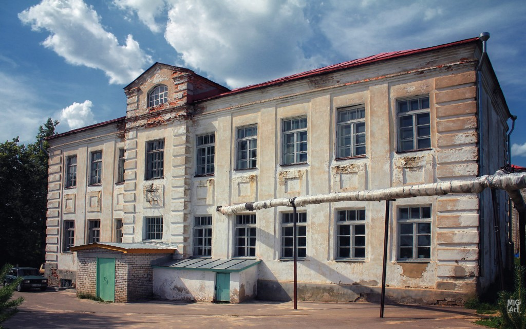Школа №2 в городе Меленки