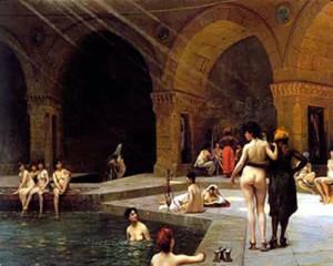 ванна в древнем риме