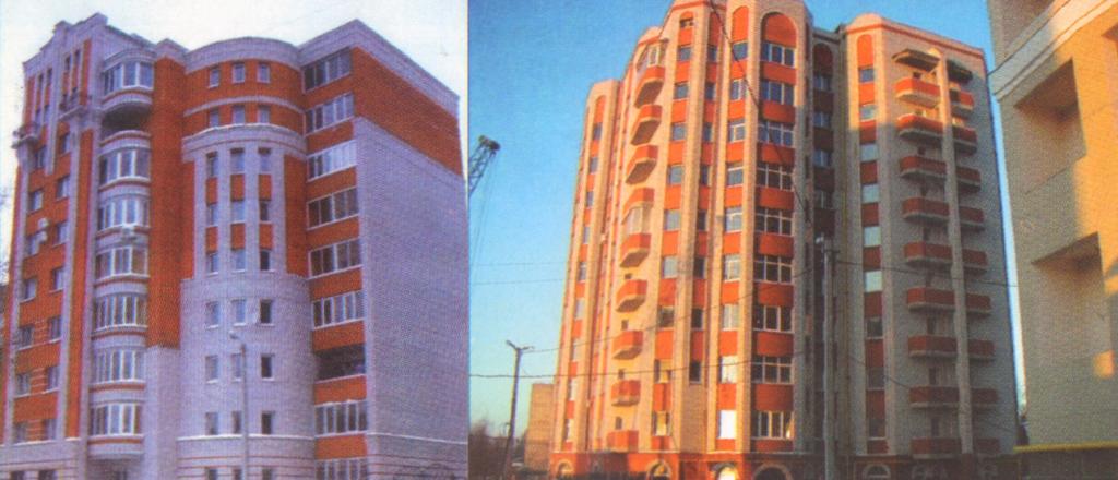 Дома построенные строительной компанией ООО Игротек (Владимир)