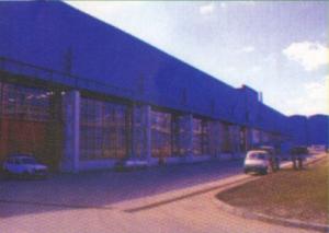 Здание гороховецкого завода стеклотары