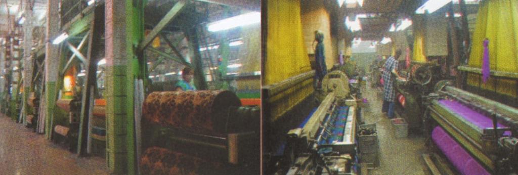 Мини-фабрика мебельных и махровых тканей