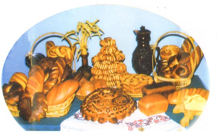 Продукция кольчугинского хлебокомбината