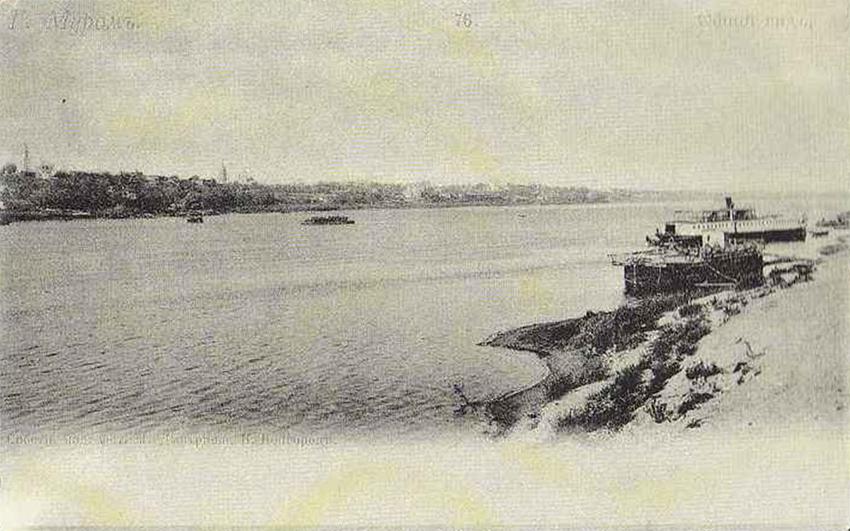 Грузовая пристань на Оке в Муроме