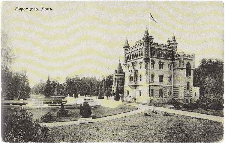 Муромцево - дом на старой открытке