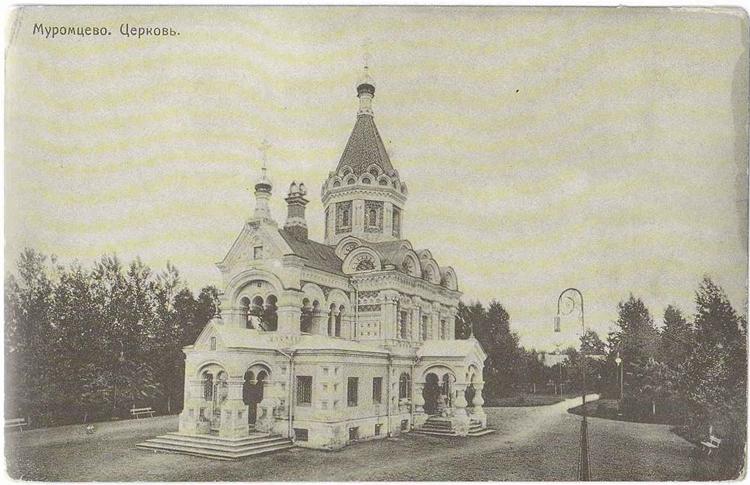 Муромцево - церковь