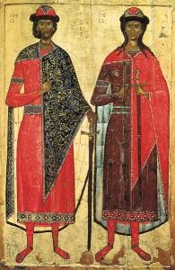 Мученики-страстотерпцы благоверные князья Борис и Глеб