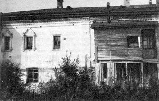 Гороховец. Вывший дом Судоплатова, принадлежавший, очевидно, в XVII в. Ершовым